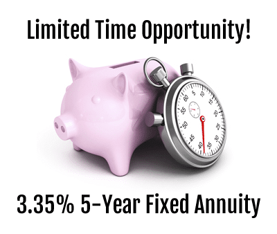 3.35% 5-Year Fixed Annuity