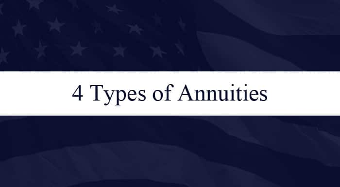 Four Types of Annuities
