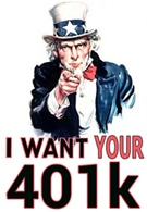 Is the Federal Government Eyeing Your 401K?