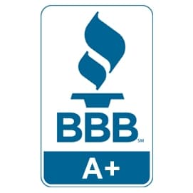 A+ Rating by the Better Business Bureau for DeWitt & Dunn