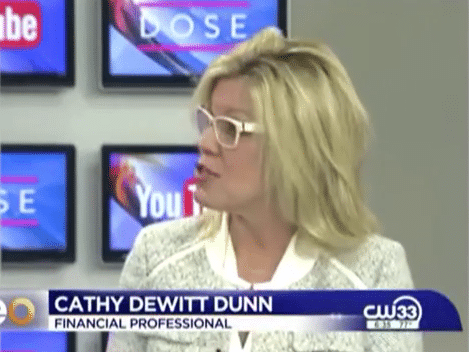Cathy DeWitt Dunn on CW 33 Eye Opener TV