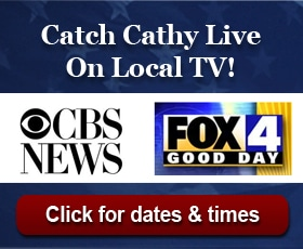 Cathy DeWitt Dunn on Fox 4 Good Day