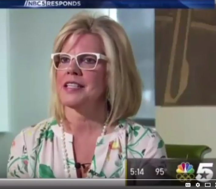 Cathy DeWitt Dunn on NBC5 discussing College Student Money Management
