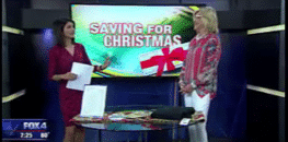 Christmas in July - Fox 4 Interview with Cathy DeWitt Dunn