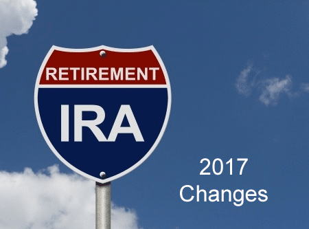 2017 IRA Changes and What They Mean for Your Retirement Account