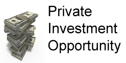 Private Investment Opportunity