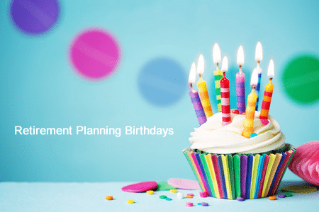 Retirement Planning Birthdays You Don't Want to Miss