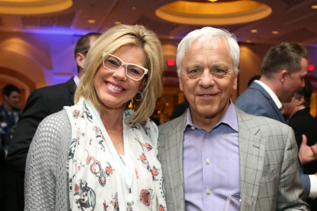 Richard Kado and Cathy DeWitt Dunn