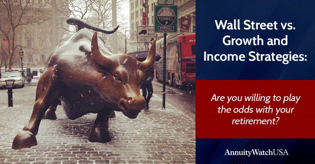Live Webinar on Wall Street vs Growth and Income Strategies